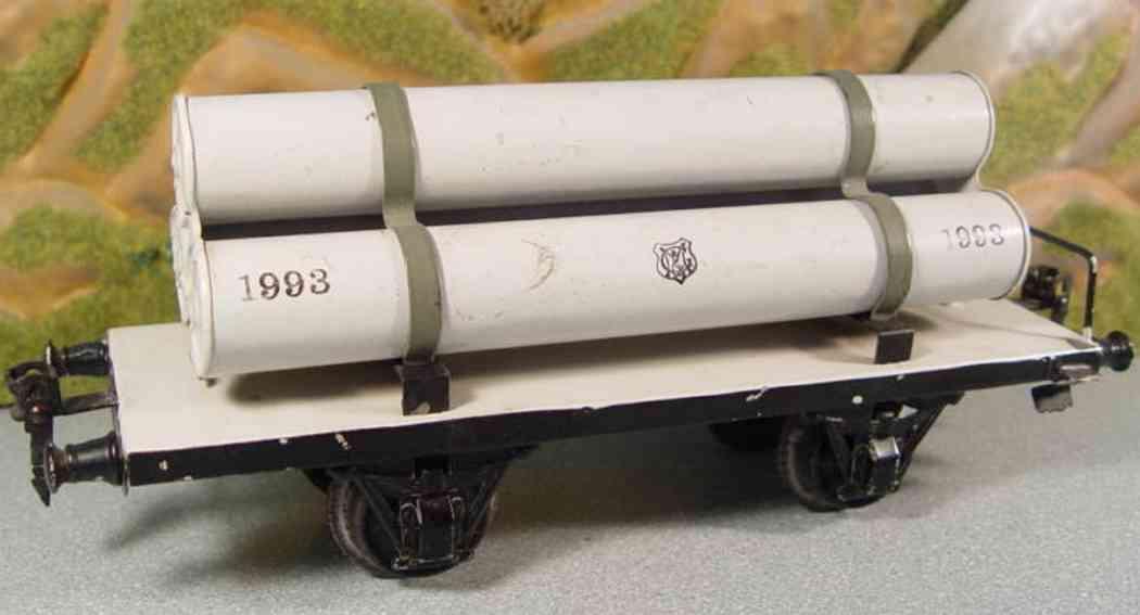 maerklin 1993/1 spielzeug eisenbahn gasroehrenwagen spur 1