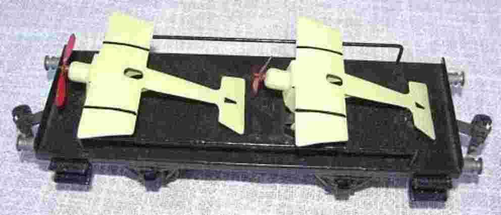 maerklin 1996/1 spielzeug eisenbahn flugzeugwagen spur 1