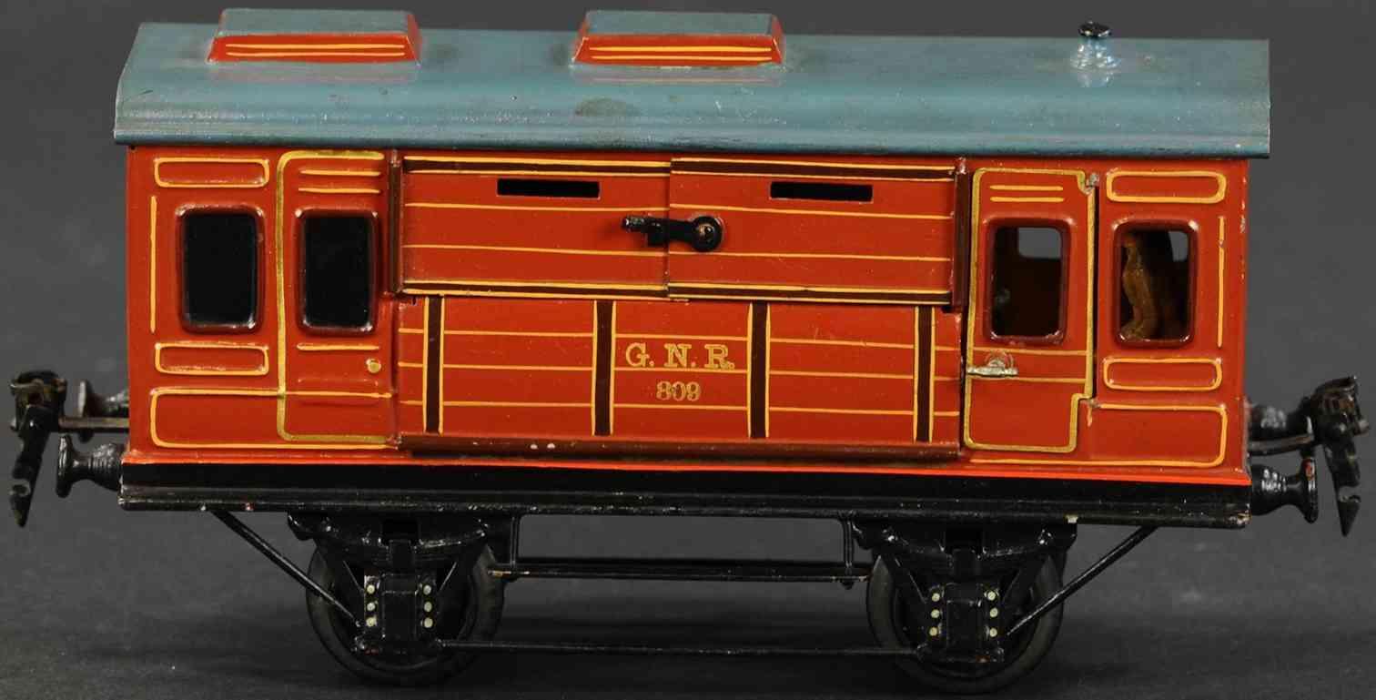maerklin 2865/1 spielzeug eisenbahn englischer tiertransportwagen spur 1
