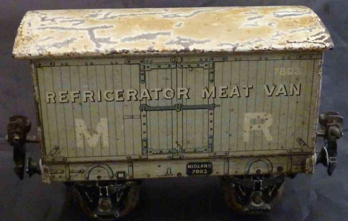 maerklin 2883/0  mr spielzeug englischer kühlwagen spur 0