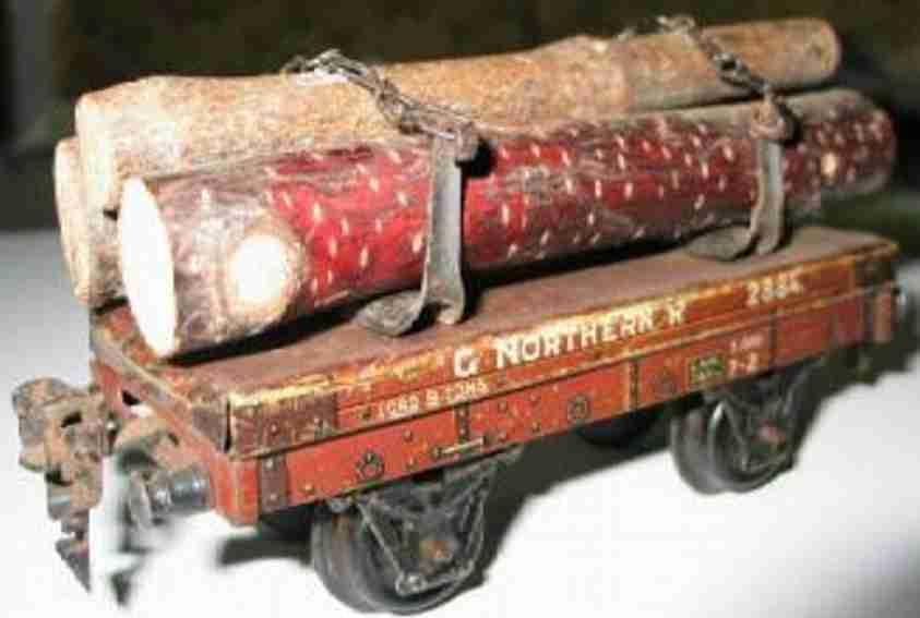 maerklin 2884 spielzeug eisenbahn englischer drehschemelwagen spur 0