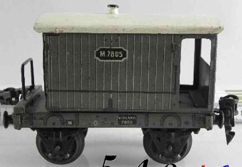 maerklin 2885/0 mr spielzeug eisenbahn englischer bremserwagen spur 0