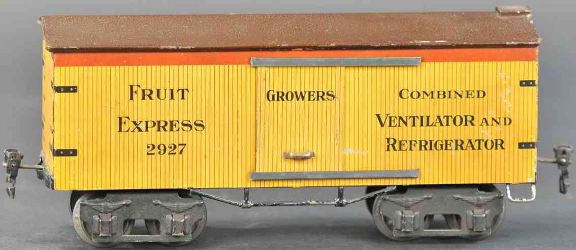 marklin maerklin 2927/1 railway toy american fruit car gauge 1 growers