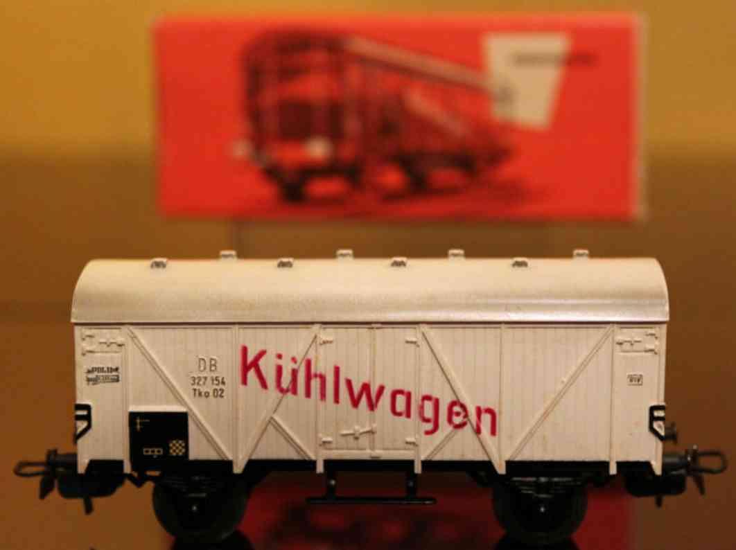 maerklin 307/1 -3 4508-3 spielzeug eisenbahn kuehlwagen spur h0