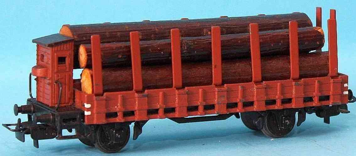 maerklin 321 g-3 spielzeug eisenbahn rungenwagen spur h0