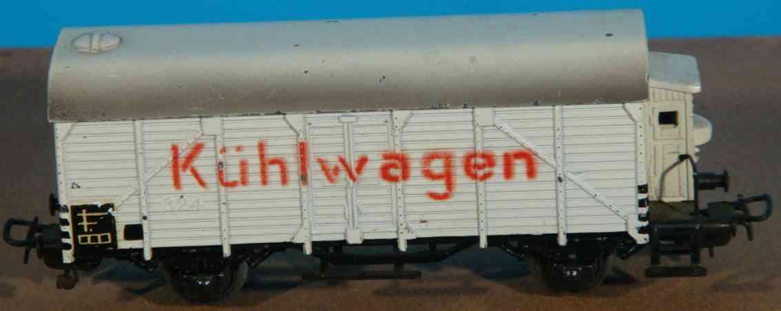 maerklin 324-2 spielzeug eisenbahn kuehlwagen spur h0