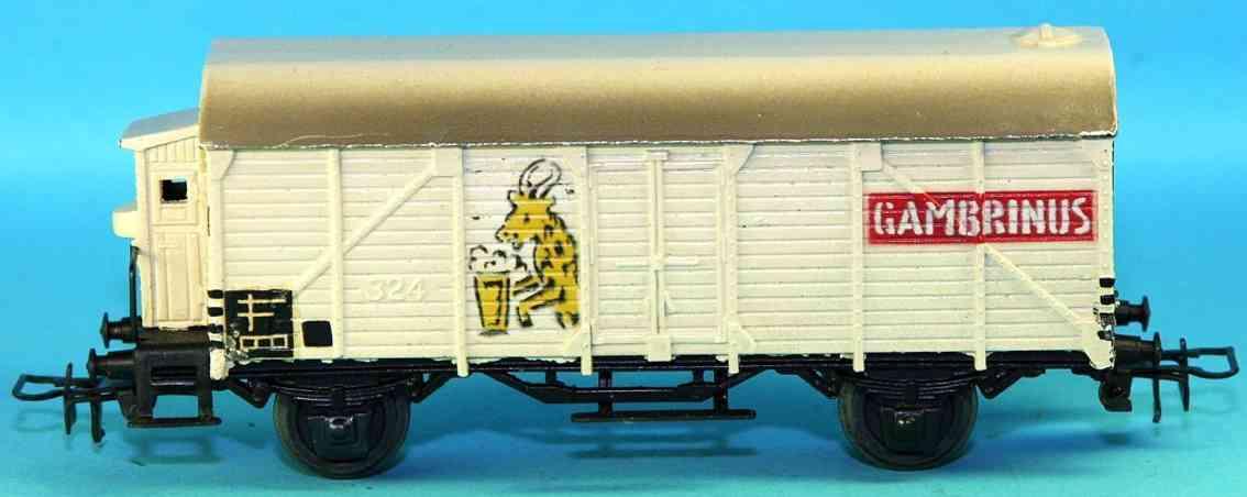 maerklin 325-1 spielzeug eisenbahn kuehlwagen spur h0