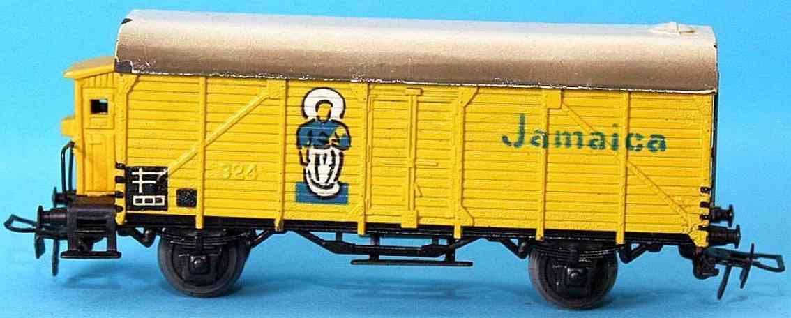 maerklin 326-1 bananenwagen guss gelb spur h0