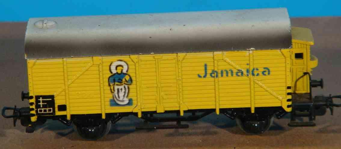maerklin 326-2 spielzeug eisenbahn bananenwagen spur h0