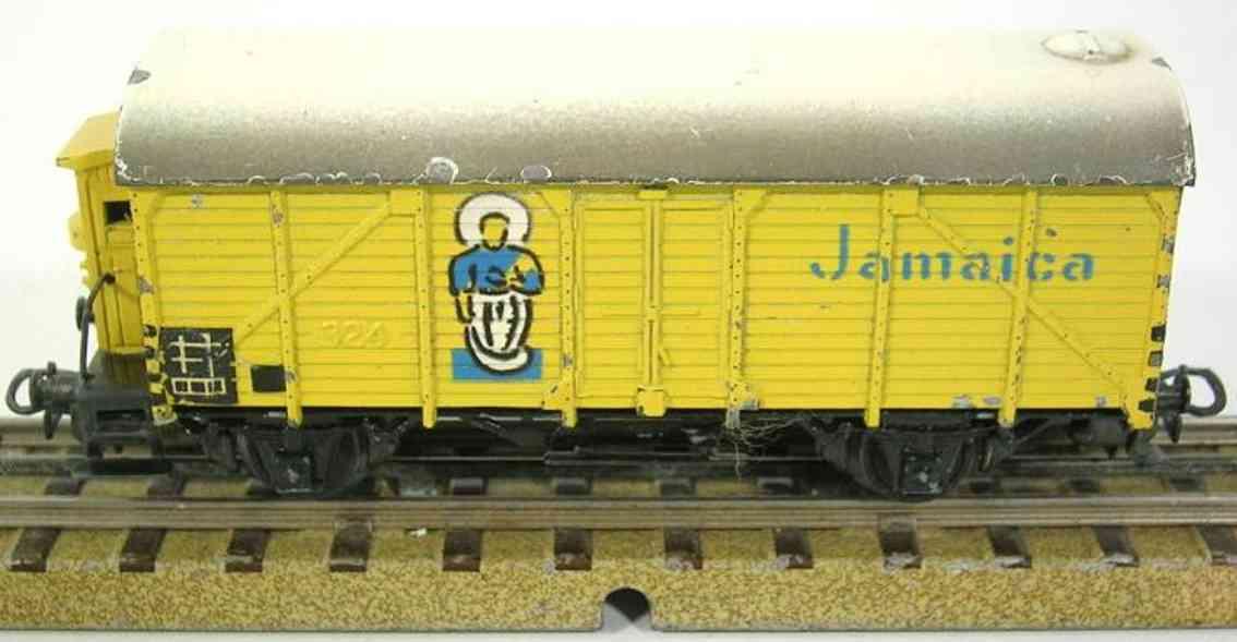 maerklin 326-3 spielzeug eisenbahn gueterwagen bananenwagen spur h0