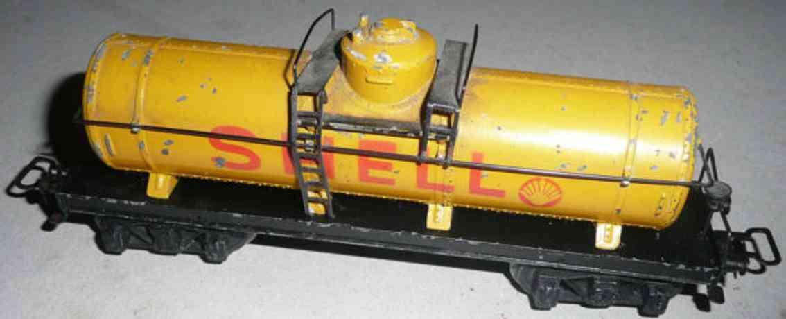 maerklin 334 s-1 spielzeug eisenbahn kesselwagen shell spur h0