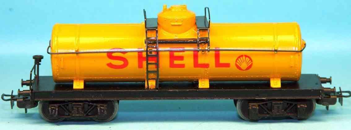 maerklin 334 s-2 spielzeug eisenbahn kesselwagen shell spur h0