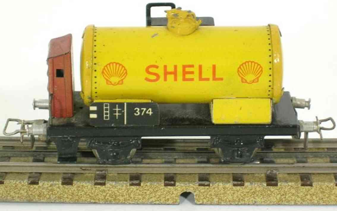 maerklin 374 s-5 spielzeug kesselwagen shell spur h0