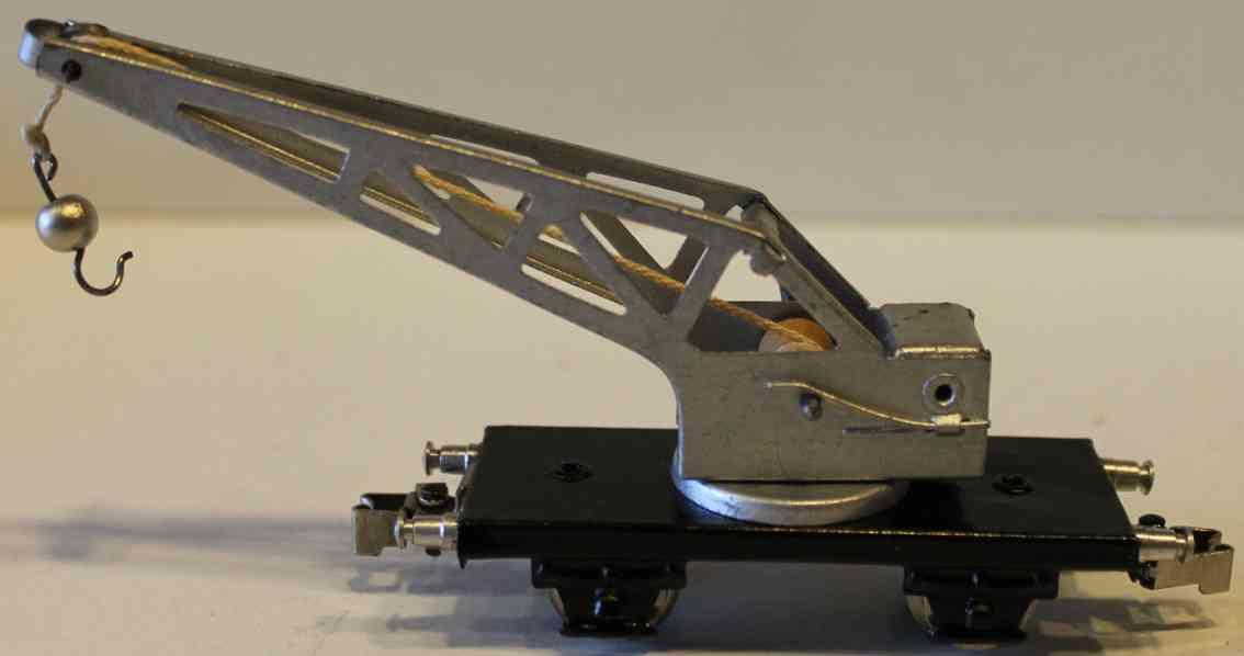 maerklin 366-2 spielzeug kranwagen aluminium spur h0