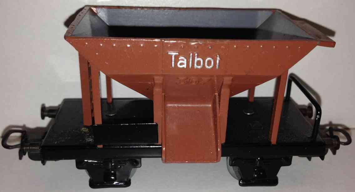 maerklin 367-7 spielzeug eisenbahn schuettgutwagen spur h0