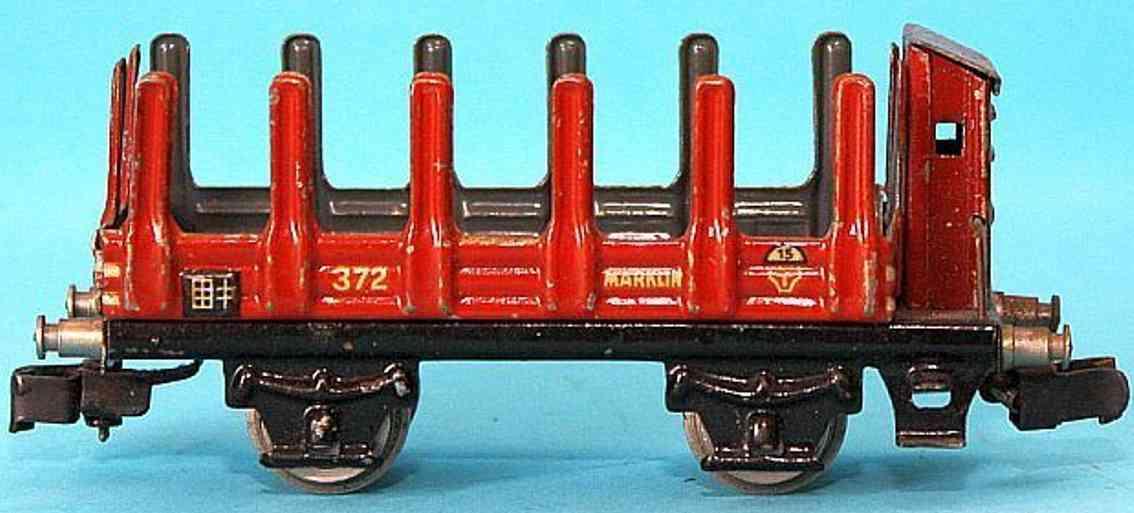 maerklin 372-2 spielzeug eisenbahn rungenwagen spur h0