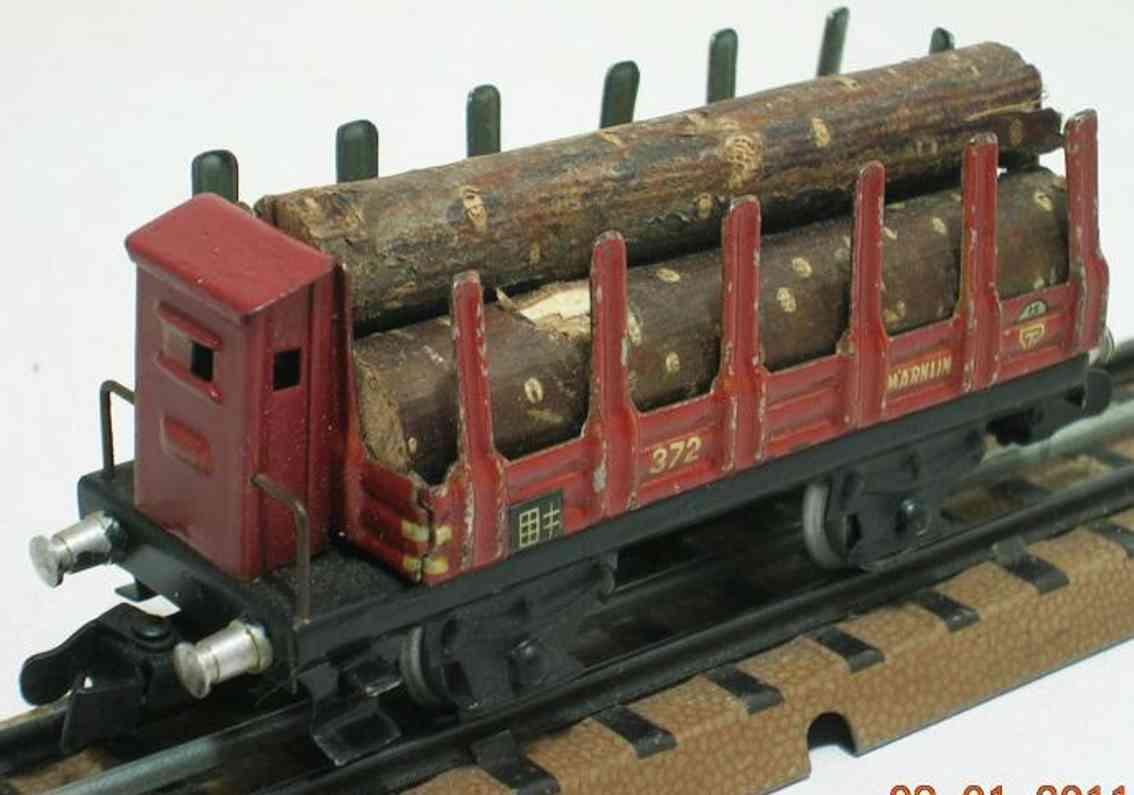 maerklin 372 g-1 spielzeug rungenwagen spur h0