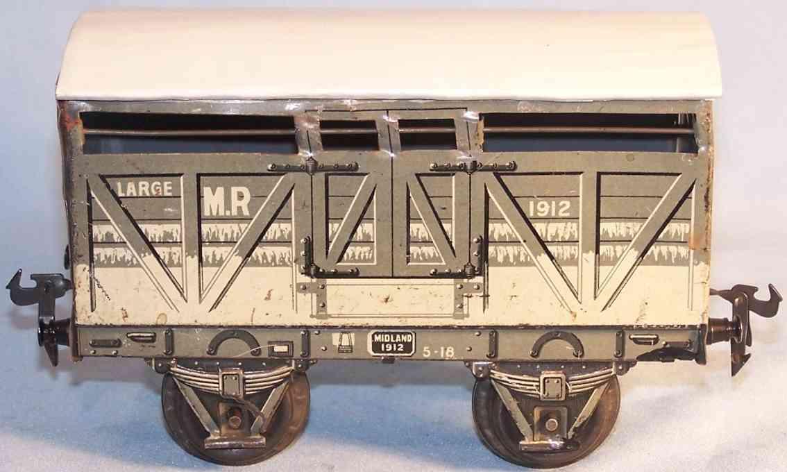 maerklin midland 2886/1 spielzeug eisenbahn gedeckter gueterwagen spur 1