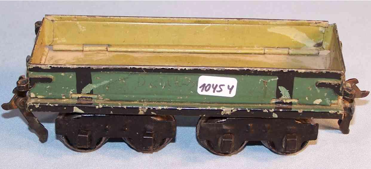 maerklin 1877/0 spielzeug eisenbahn unterwagen zirkus- moebelwagen spur 0