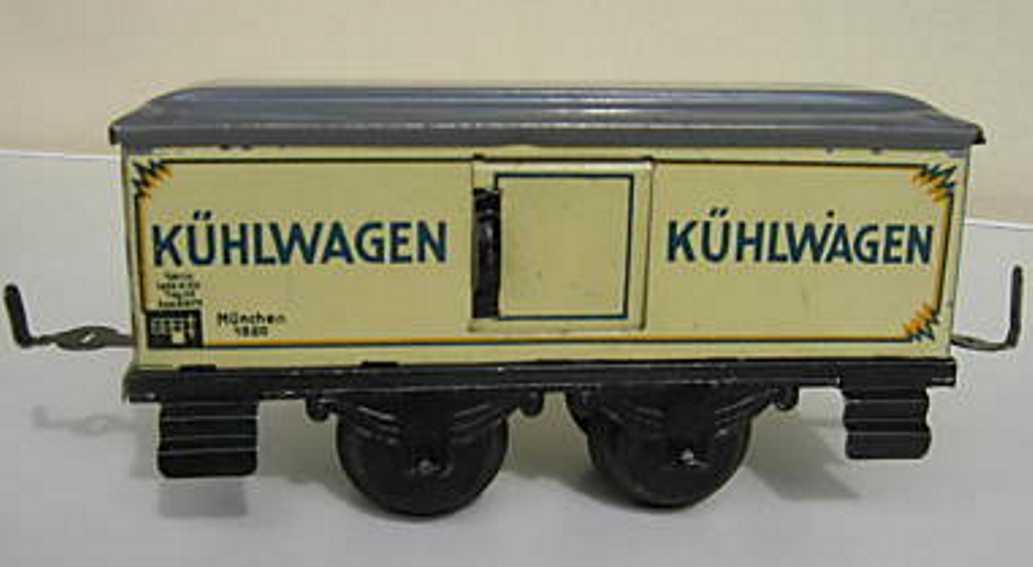 schuhmann,adolf 800/3 spielzeug eisenbahn kuehlwagen spur 0