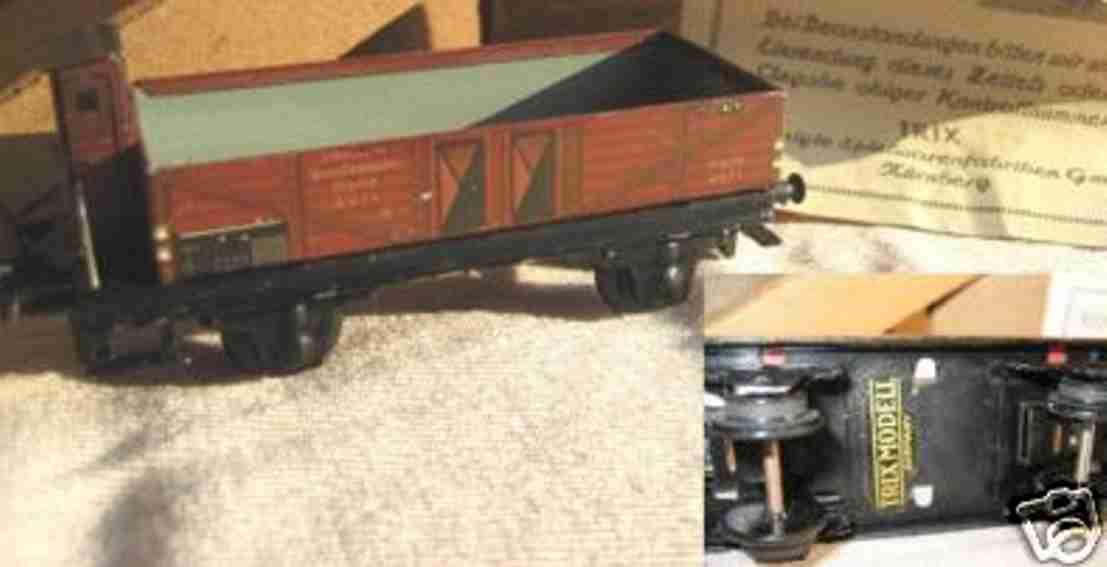 Trix 20/71 Niederbordwagen