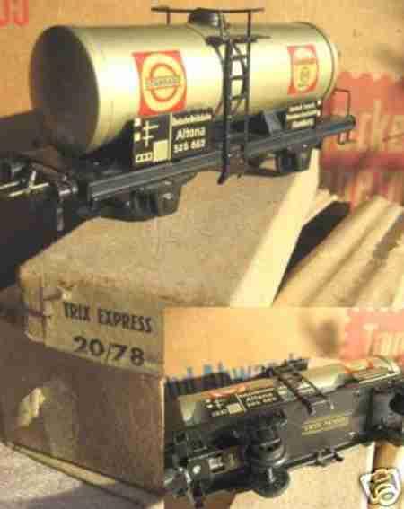 Trix 20/78 Güterwagen Tankwagen Shell