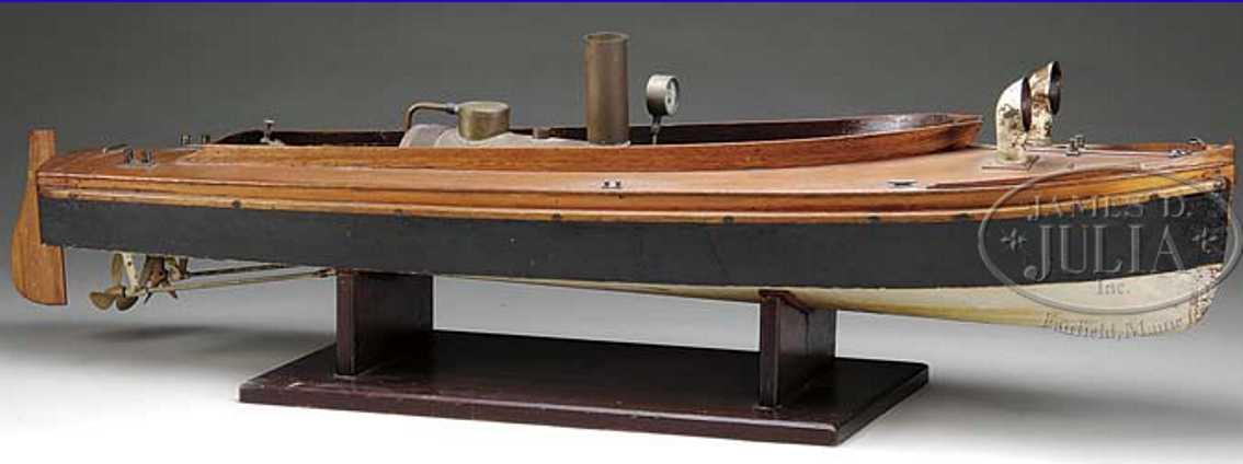 Boucher Schiffe Echtdampfboot