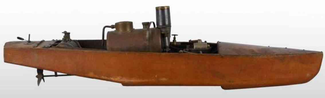 Boucher H.E. MFG. Co Echtdampfboot aus Holz