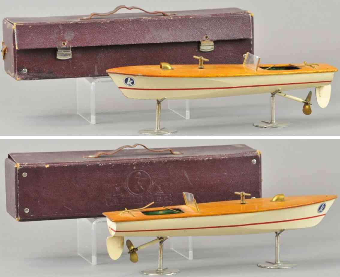 kellner hans-georg wooden toy ship boat
