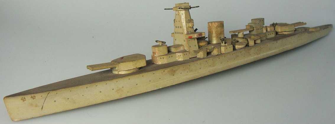 koester 21B holz spielzeug schiff kriegsmarine, panzerschiff admiral graf spee,36-36, der ober