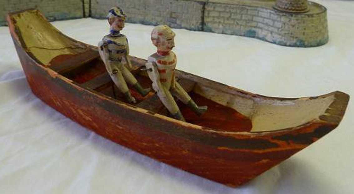 Radiguet & Massiot Ruderboot aus Holz