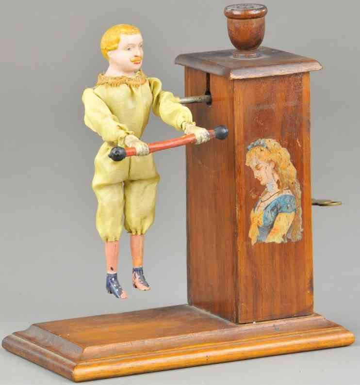 hubbell w l holz turner automatisches spielzeug