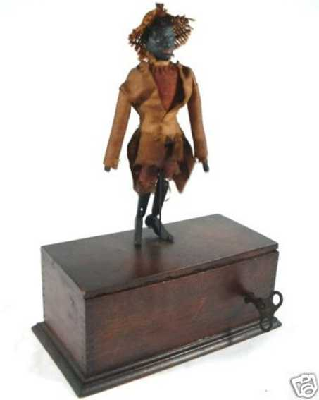ives black man wooden toy the famous dancing darkies