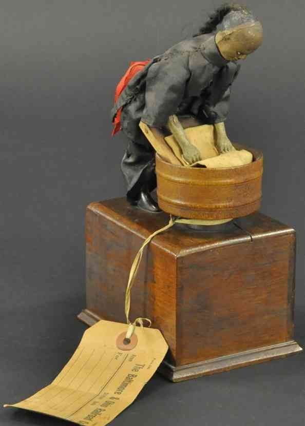 ives holz spielzeug figur chinesischer waescher