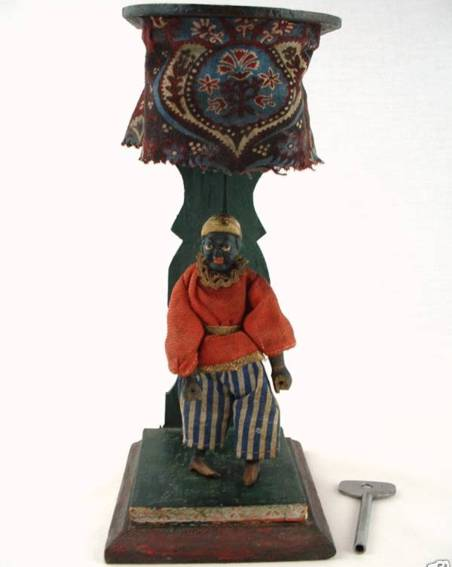 ives wooden toy cromwell jubilee clockwork cake wallk dancer jigger