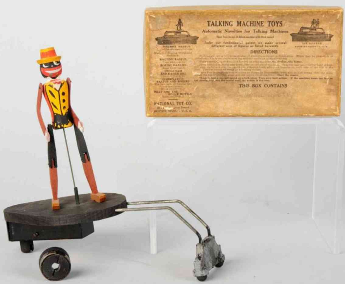 national toy co wooden toy african american dancing figure ragtime rastus