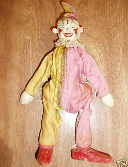 schoenhut holz spielzeug clown clown