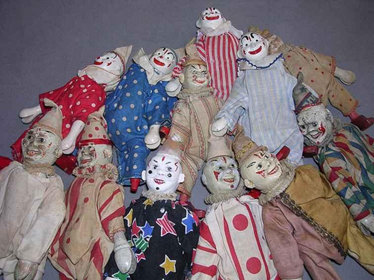 Schoenhut Clowns