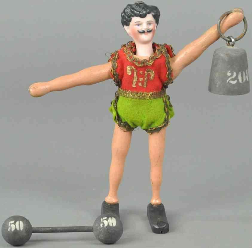 schoenhut holz spielzeug figur akrobat stil II
