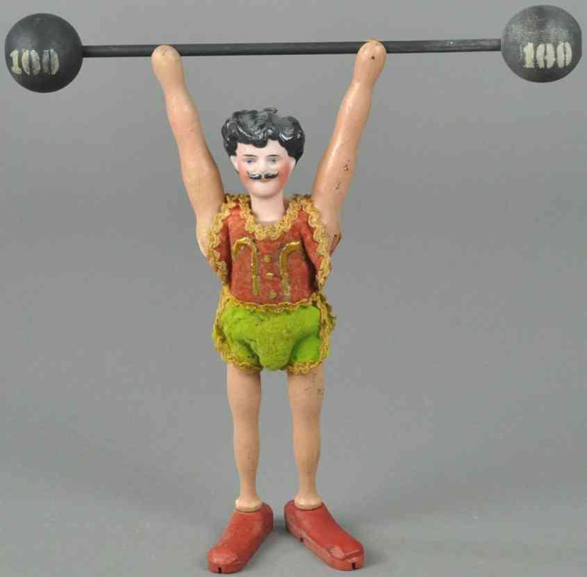 schoenhut holz spielzeug figur akrobat stil III