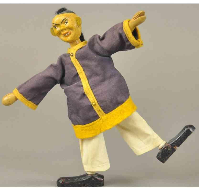 schoenhut holz spielzeug figur chinese als akrobat stil I
