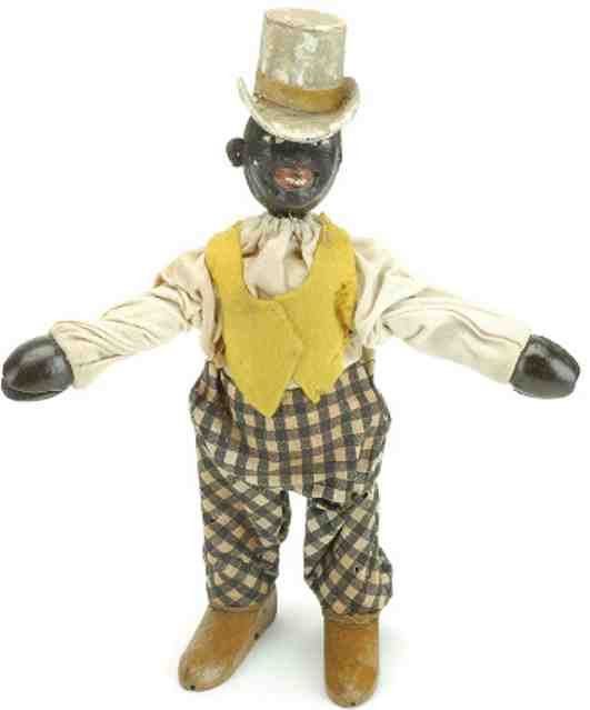 schoenhut wooden toy circus black dude