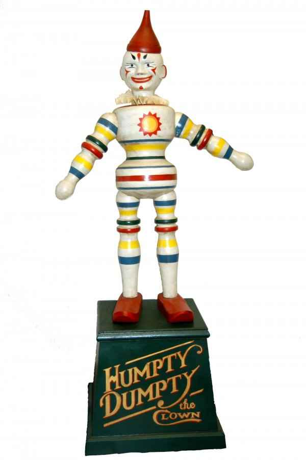Schoenhut Circus clown display figure sculpted by Keith Kaonis