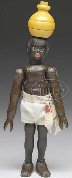 Schoenhut Figuren Eingeborener mit Wassertrog