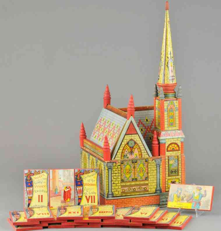 bliss rufus paper wooden toy church