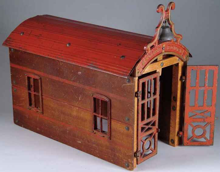 carpenter 58 engine house of wood cast iron tin