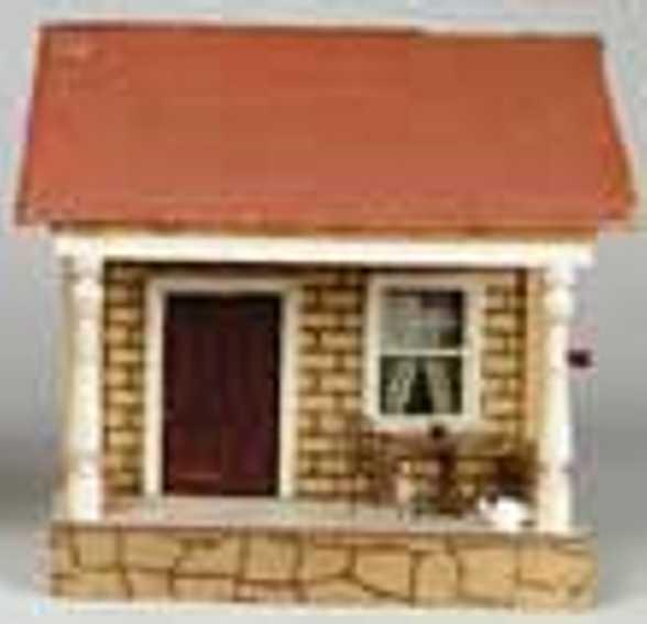 schoenhut holz spielzeug bungalow mit veranda