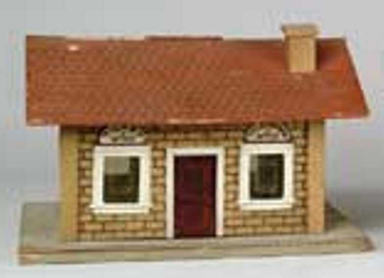 Schoenhut Gebäude Bahnhof