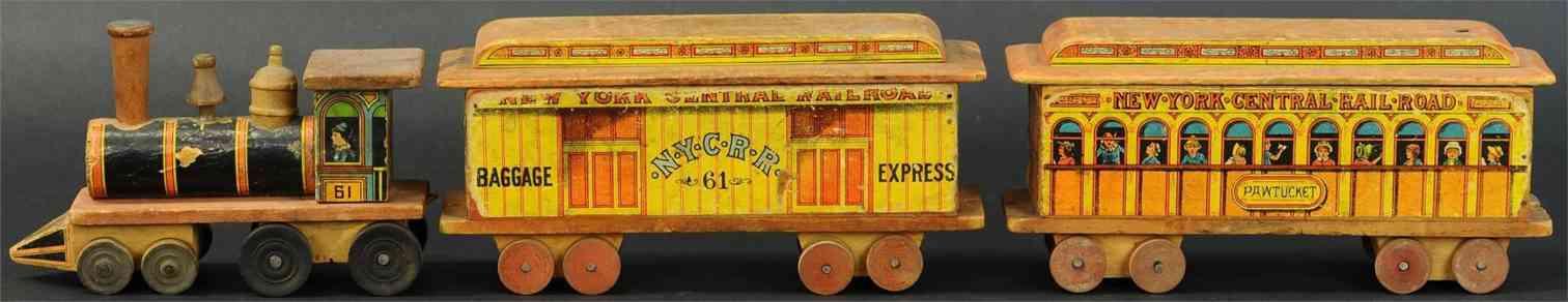 bliss rufus holz spielzeug lokomotive zwei wagen