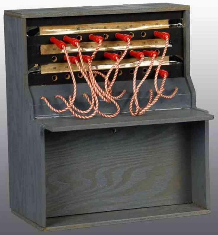 Fisher-Price Holz Prototyp Telefonzentrale